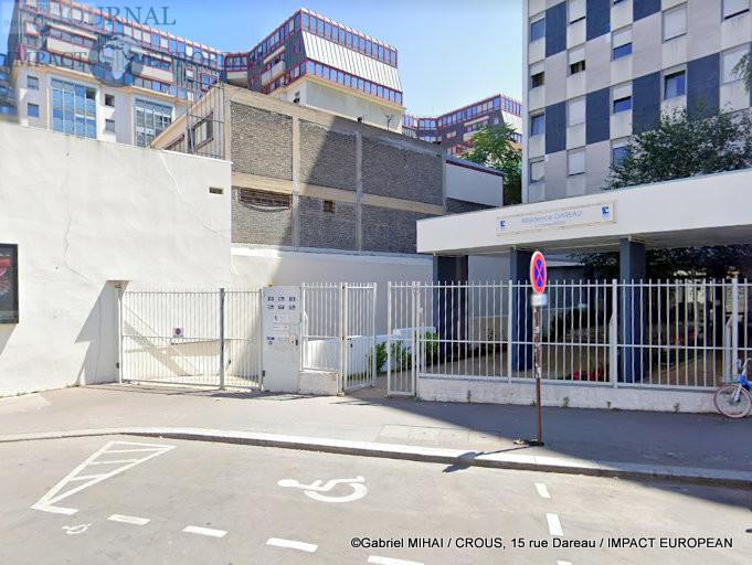 CROUS, 15 rue Dareau