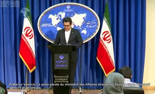 Le porte-parole du ministère des Affaires étrangères Seyyed Abbas Mousavi