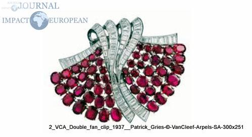 VCA_Double_fan_clip_1937__Patrick_Gries © VanCleef & Arpels SA