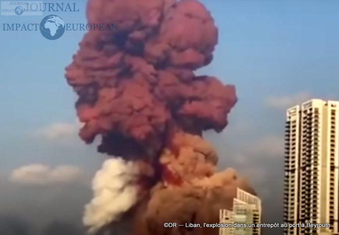 L'explosion dans un entrepôt au port à Beyrouth 5