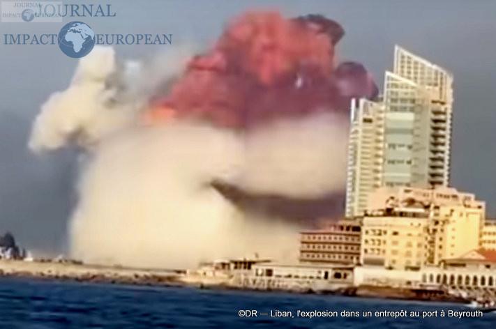 L'explosion dans un entrepôt au port à Beyrouth 6