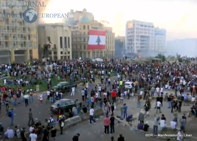 Manifestation au liban 15
