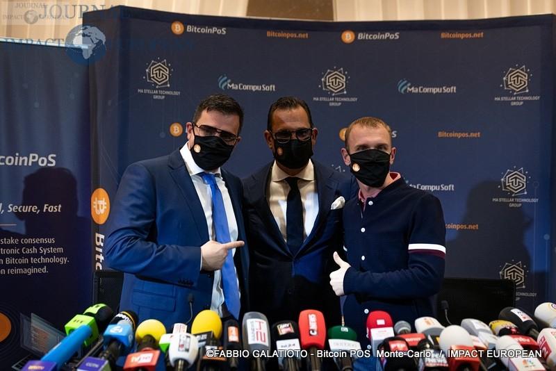 Monte-Carlo : CEO Aljosha, CTO Alexander Malev, Chairman Josip Heit