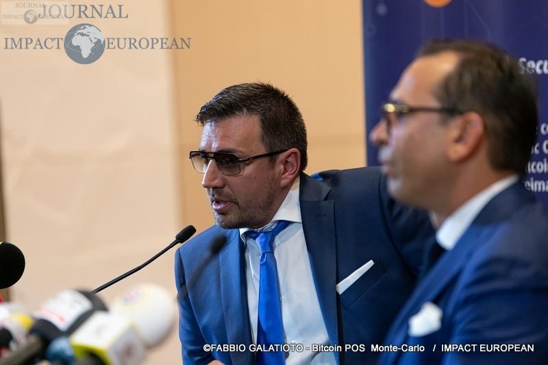 CTO Alexander Malev & Chairman Josip Heit