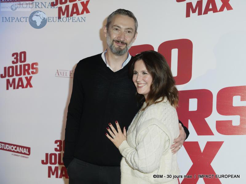 Vincent Desagnat et Audrey Garcia