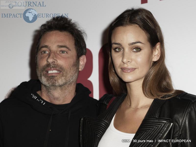 Richard Orlinski et sa compagne Elisa Bachir Bey