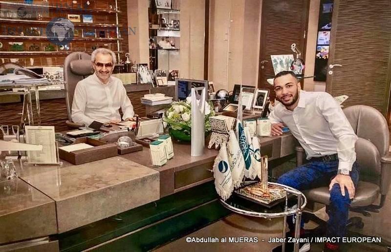 Le boxeur Jaber Zayani vient de signer son contrat de 5 ans avec son promoteur le prince saoudien Al Walid Ben Talal Al Saoud.