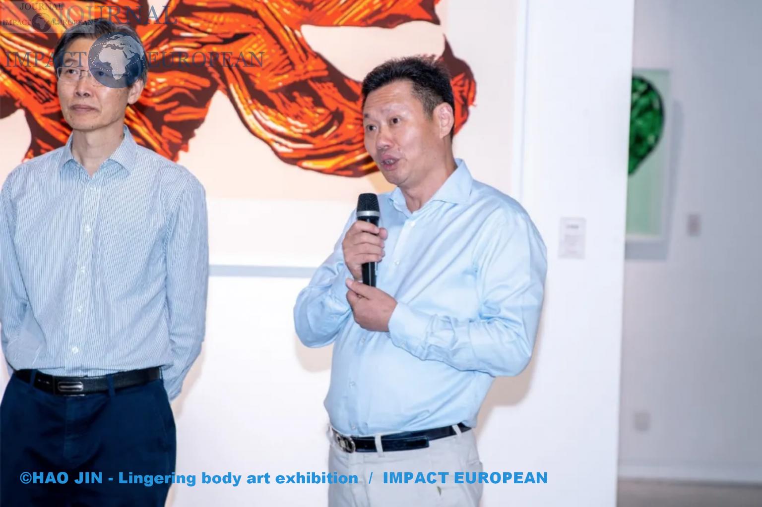 Ye Youhuan, directeur du célèbre centre international de culture et d'art de l'UE en Chine.1