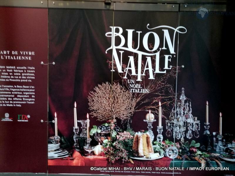BHV / MARAIS - BUON NATALE