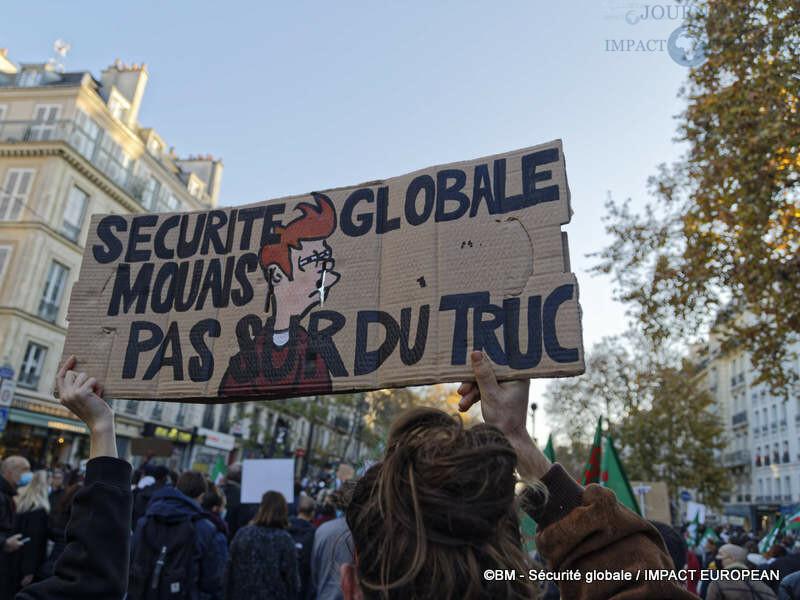manif securite globale 35