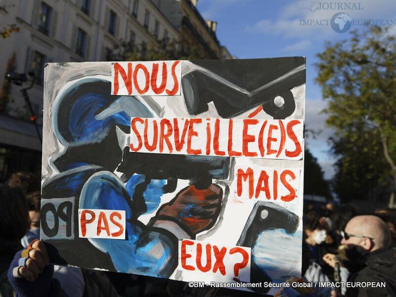 rassemblement sécurité globale 22