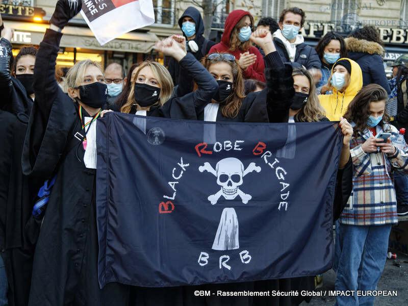 rassemblement sécurité globale 48