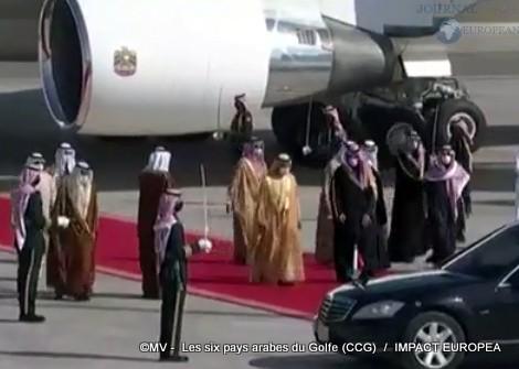 Les six pays arabes du Golfe (CCG)01