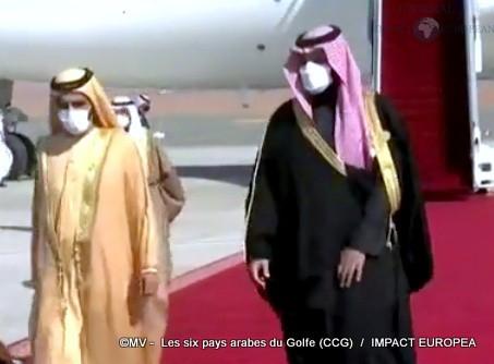 Les six pays arabes du Golfe (CCG)02