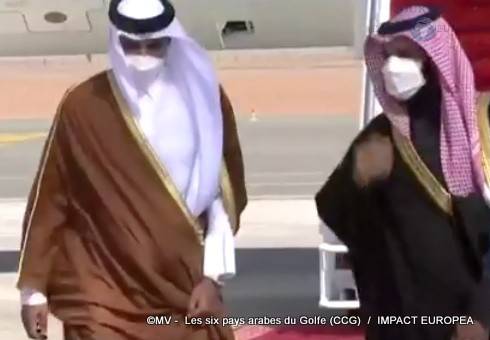 Les six pays arabes du Golfe (CCG)05