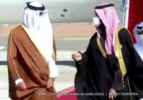 Les six pays arabes du Golfe (CCG)06