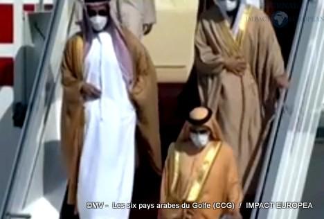 Les six pays arabes du Golfe (CCG)08
