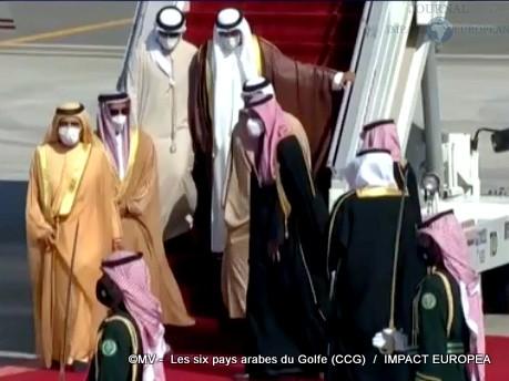 Les six pays arabes du Golfe (CCG)09