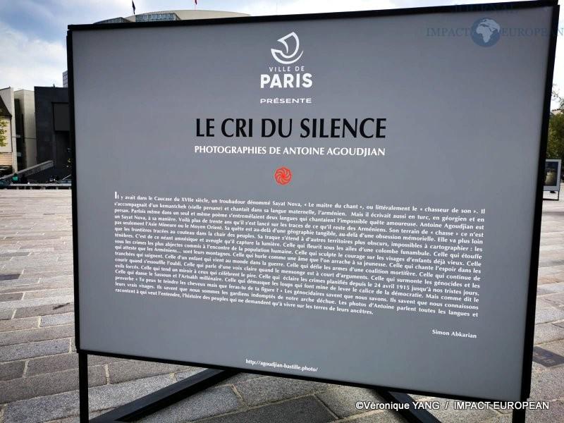Bastille « Le cri du silence » d'Antoine Agoudjian