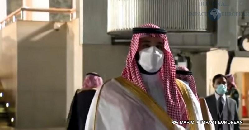 Le prince héritier Mohammed Bin Salman