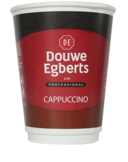 DOUWE EGBERTS CAPPUCCINO 12OZ RECYCLABLE DRINKS