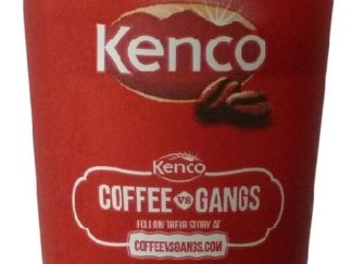 KENCO DECAFFEINATED COFFEE WHITE INCUP