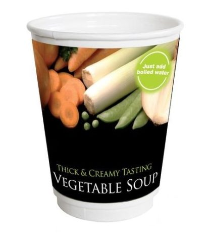 VEGETABLE SOUP 12OZ RECYCLABLE DRINKS