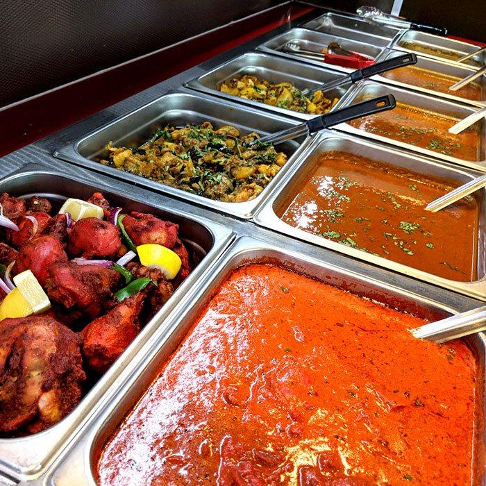 INDIAN MAHAL buffet