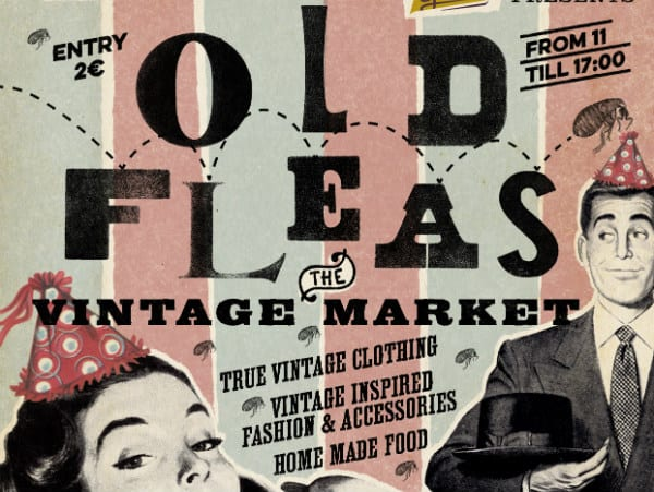 Old Fleas Vintage Market Anniversary Edition this Sunday!
