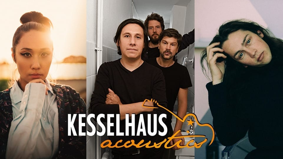 Kesselhaus Acoustics: six Tuesdays, three acoustic acts each night, sounds like a party