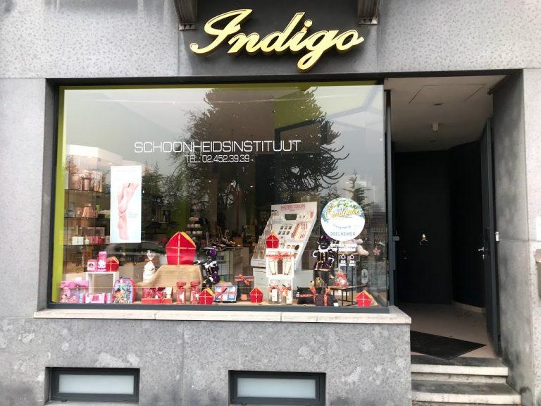 Indigo asse winkel