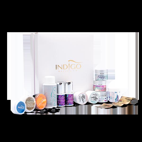 Indigo Nail Art Startsæt Box
