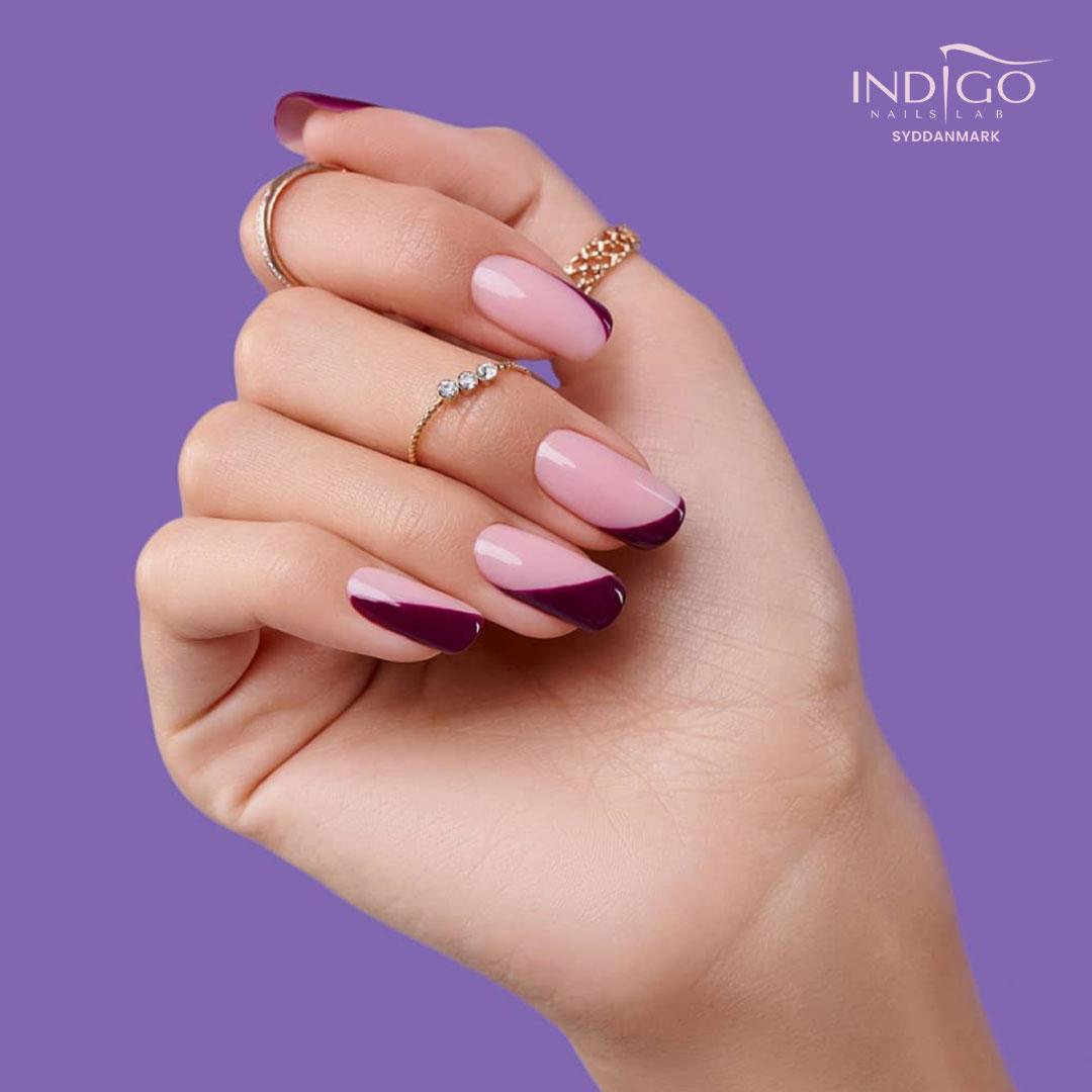 Purple Nails Lilla Negle