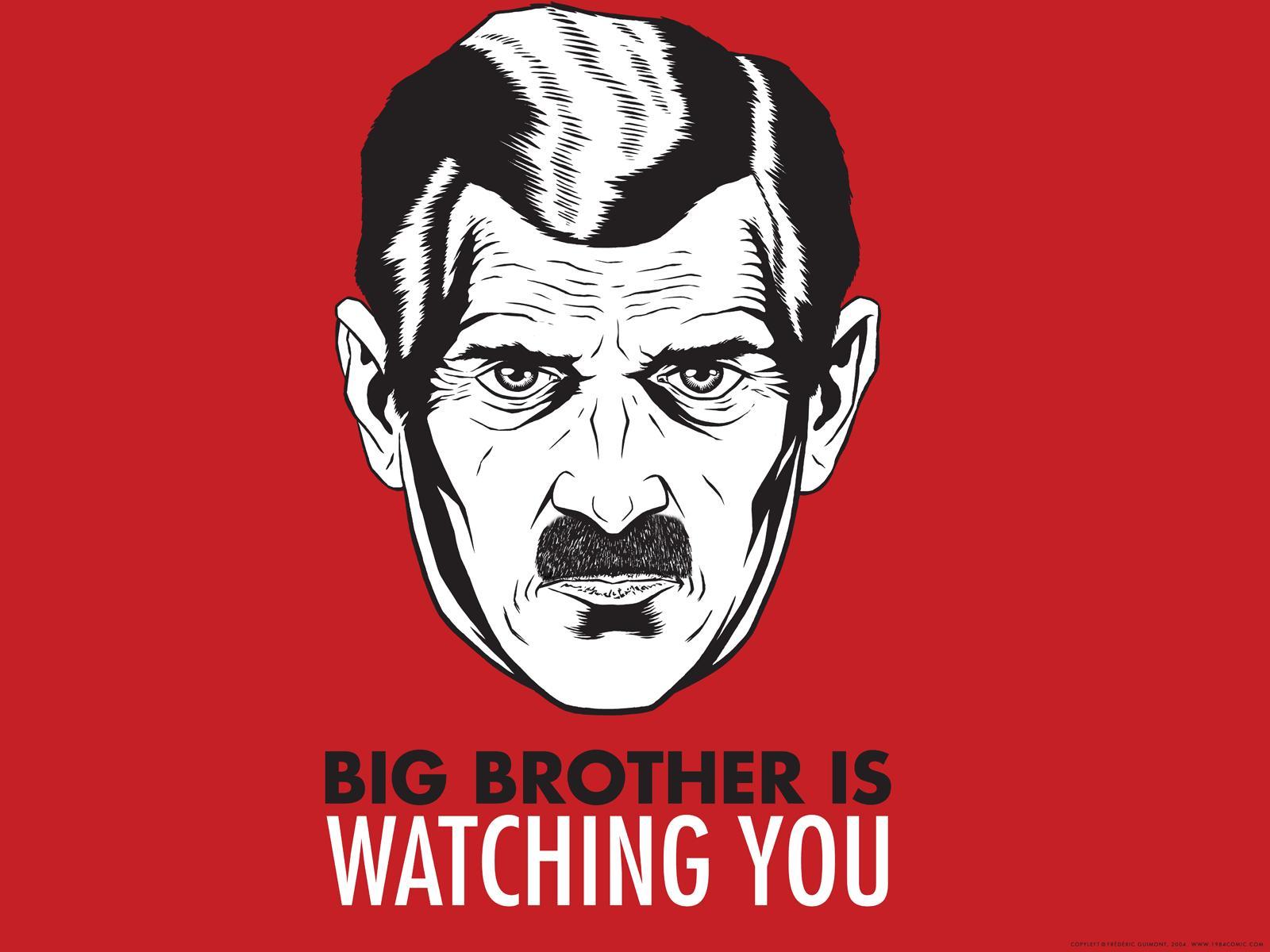 Vergeet George Orwell's 1984, dit is 2016!