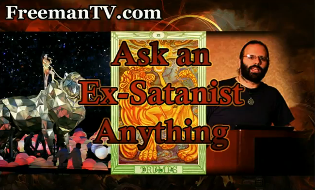 Ask an Ex-Satanist Anything & Katy Perry Super Bowl Ritual