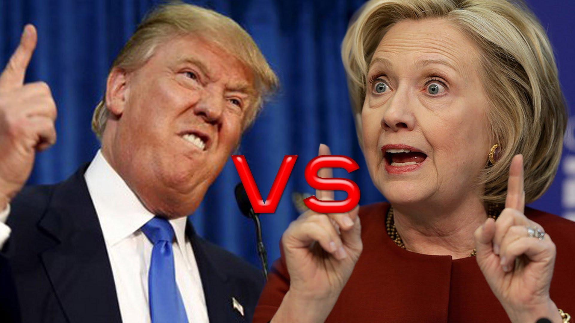 De Trump versus Hillary Show