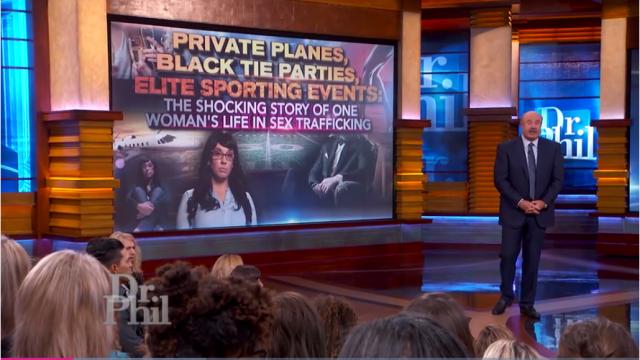 Slachtoffer satanisch elite pedonetwerk doet haar verhaal bij Dr. Phil