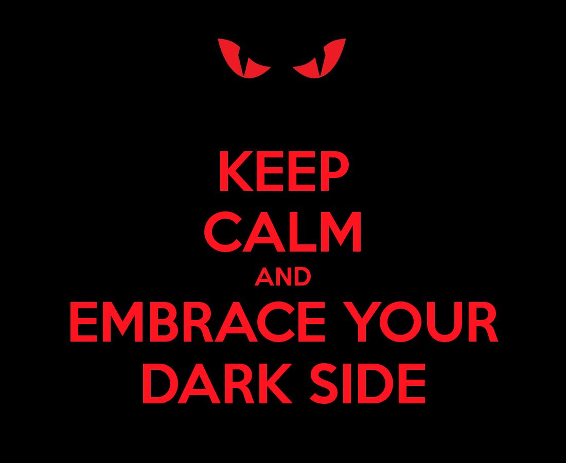 Omhels je duistere kant