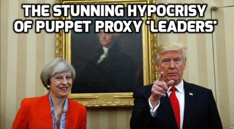 The Stunning Hypocrisy of Puppet Proxy 'Leaders' – David Icke (video)