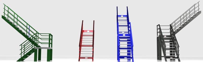 Todos los modelos de escaleras