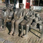 1977 Oudewater, Herman de Man monument