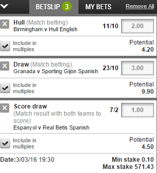 five folds from 6 betting