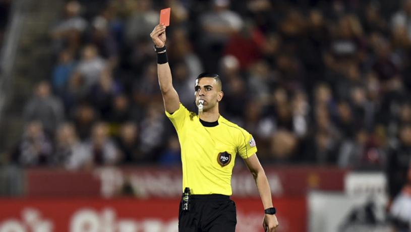 football bets red card misery