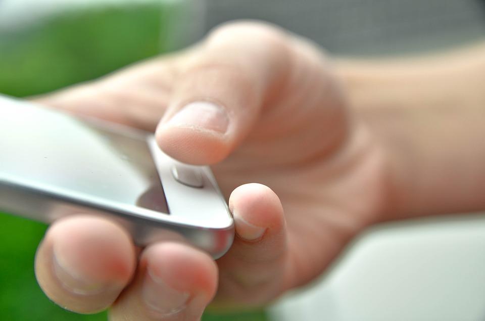 Wat is een vingerafdruksensor in een telefoon