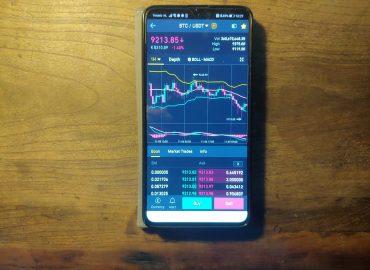 Crypto-App-Smartphone