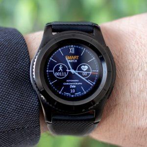 Smartwatch met bloeddrukmeter en ECG