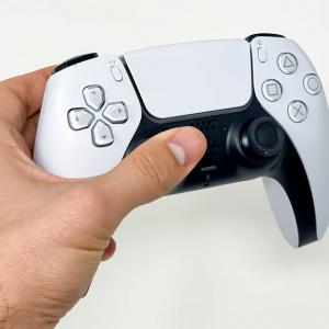 PS5 controller op PS4 gebruiken