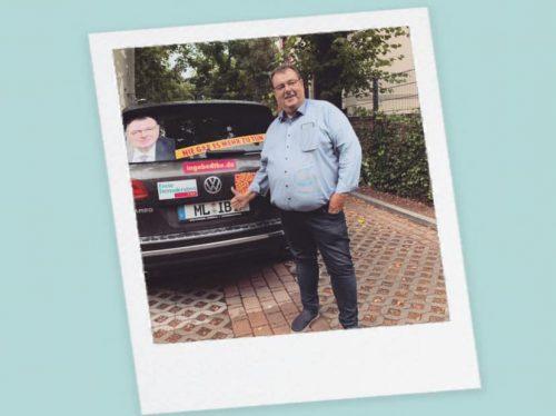 Ingo Bodtke Botschaften Polaroid
