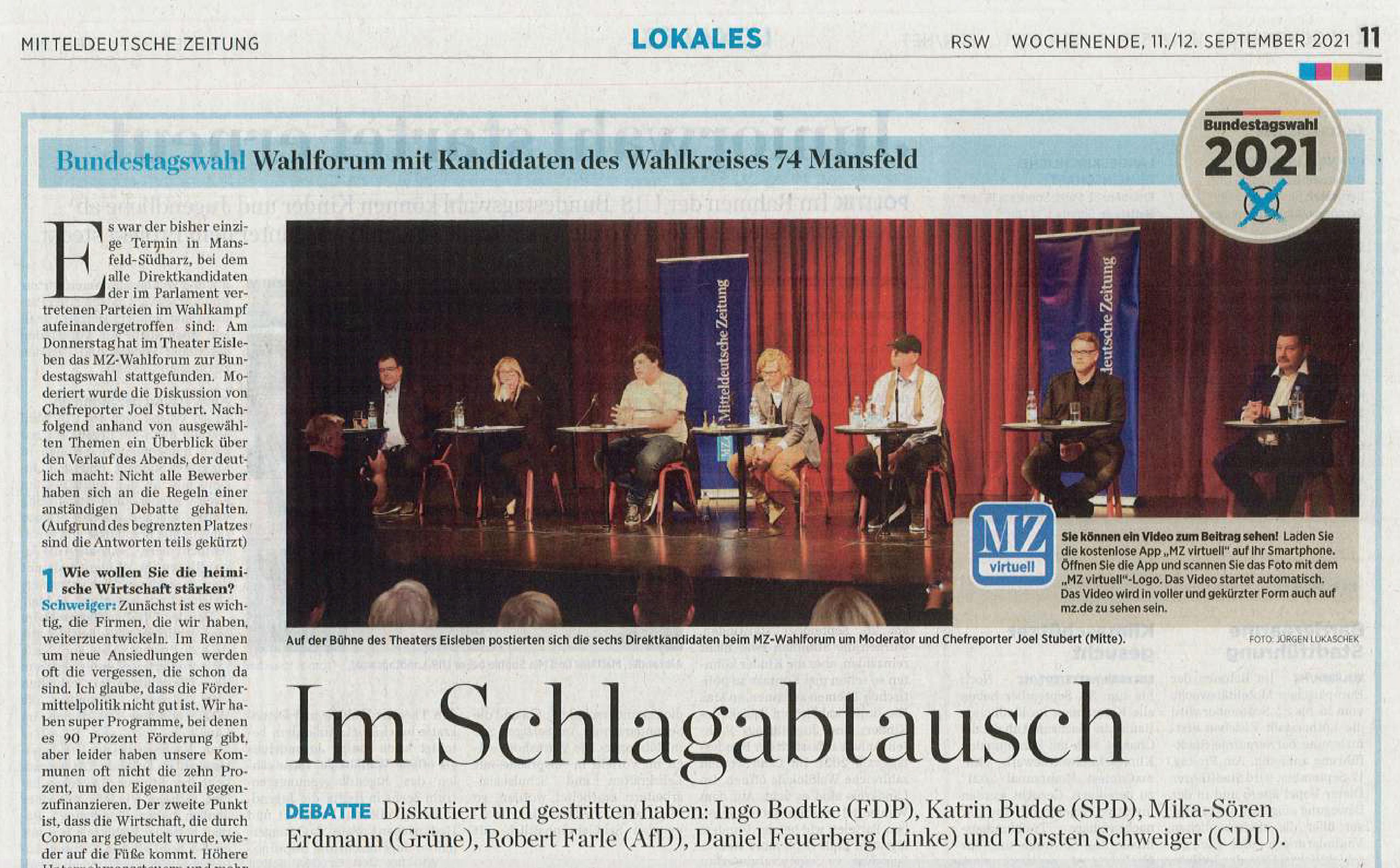 Mitteldeutsche Zeitung Eisleben