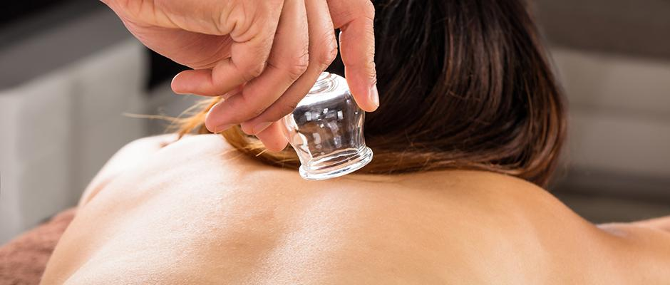 Traditionele Chinese Cupping Massage